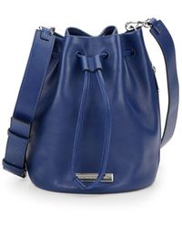 Marc Jacobs - Luna Two-tone Leather Bucket Bag - Lyst