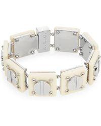 A.L.C. - Resin Screw Tennis Bracelet - Lyst