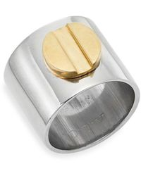 A.L.C. - Cigar Band Ring - Lyst