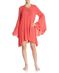 Cirana - Bell Sleeve Gauze Dress - Lyst