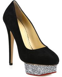 christian louboutin replica - Christian louboutin Wawy Dolly Patent Leather Pumps in Black | Lyst