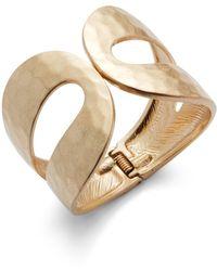 Catherine Malandrino - Bohemian Metals Hammered Textured Bracelet - Lyst