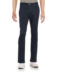 Perry Ellis - Solid Slim-fit Jeans - Lyst