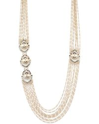 Catherine Malandrino - Moxie Fan Swag Necklace - Lyst