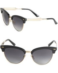 clubmaster sunglasses womens vn8l  Gucci  55mm Clubmaster Sunglasses  Lyst