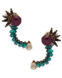Tataborello - Beaded Ear Crawlers - Lyst