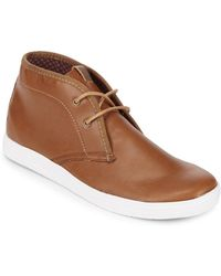 Ben Sherman - Round Toe Mid-top Shoes - Lyst