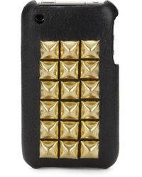 Jagger Edge - The Montana Studded Leather Case For Iphone 4 - Lyst