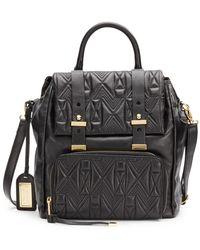 Badgley Mischka - Metalassà Leather Backpack - Lyst