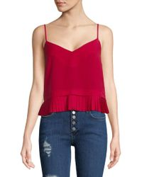 French Connection - Polly Pleated Camisole - Lyst