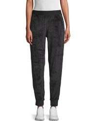Hue - Velour Track Trousers - Lyst