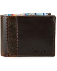 Robert Graham - Lagos Slim Fold Leather Wallet - Lyst