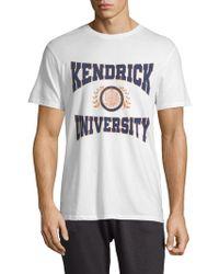 ELEVEN PARIS - Kendrick University Short-sleeve Cotton Tee - Lyst