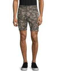 Slate & Stone - Novelty Camouflage Cotton Cargo Shorts - Lyst