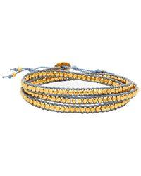 Chan Luu - Sterling Silver Wrap Bracelet - Lyst