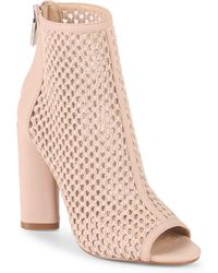 Kendall + Kylie - Galla Leather Booties - Lyst