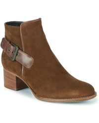 Aquatalia - Tracy Suede Round Toe Boots - Lyst