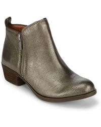Lucky Brand - Basel Leather Booties - Lyst