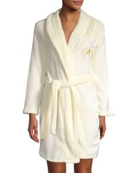 1a7400ff6a Juicy Couture - Scripted Velour Robe - Lyst