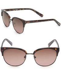 Joe's - 55mm Cat's Eye Sunglasses - Lyst