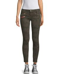 Etienne Marcel - Camouflage Skinny Jeans - Lyst