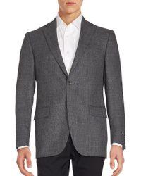 Saks Fifth Avenue - Woolen Long Sleeve Jacket - Lyst