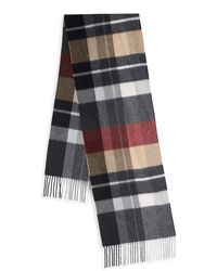 Saks Fifth Avenue - Boxed Exploded Plaid Cashmere Scarf - Lyst