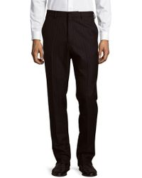 Dries Van Noten - Striped Wool Trousers - Lyst