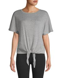Marc New York - Knot Front Top - Lyst
