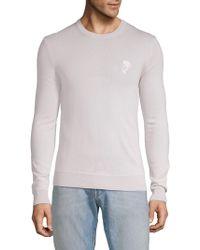 Versace - Crewneck Wool Sweater - Lyst