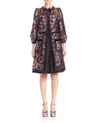 Marc Jacobs - Warped Flower Sequin Coat - Lyst