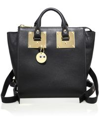 5e007611c93d Sophie Hulme - Small Holmes Leather Backpack - Lyst