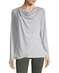 Gaiam - Lyla Cowlneck Sweater - Lyst