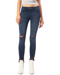 DL1961 - Margaux Instasculpt Ankle Skinny Jeans - Lyst
