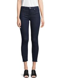 7 For All Mankind - Gwenevere Ankle-length Jeans - Lyst