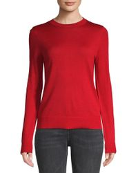 Zadig & Voltaire - Fitted Wool Jumper - Lyst
