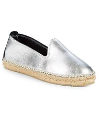 Manebí - Los Angeles Metallic Espadrilles - Lyst