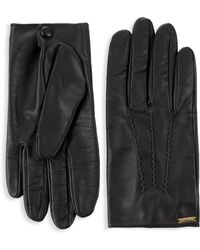 DSquared² - Classic Leather Gloves - Lyst