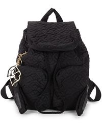 See By Chloé - Quilted Drawstring Backpack - Lyst