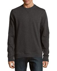 Saks Fifth Avenue - Herringbone Jumper - Lyst