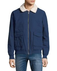 Tavik - Houghton Full Zip Cotton Jacket - Lyst