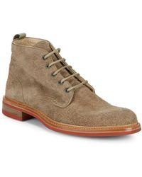 Rag & Bone - Hirvi Leather Ankle Boots - Lyst