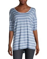 Lafayette 148 New York - Kristin Striped Top - Lyst