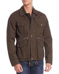 Saks Fifth Avenue | Modern Hunting Jacket | Lyst