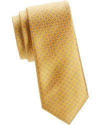 Canali - Classic Silk Tie - Lyst