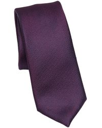 Saks Fifth Avenue Modern Little Clusters Silk Tie