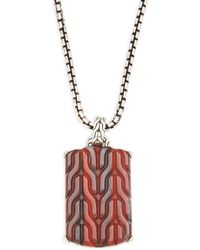 John Hardy - Classic Chain Collection Pendant Necklace - Lyst