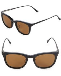 Bottega Veneta - 49mm Square Sunglasses - Lyst