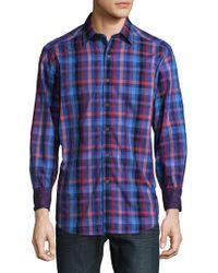 Robert Graham - Beihlers Cotton Casual Button-down Shirt - Lyst