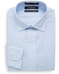 Bugatchi - Slim-fit Wovens Shaped Cotton Dress Shirt - Lyst
